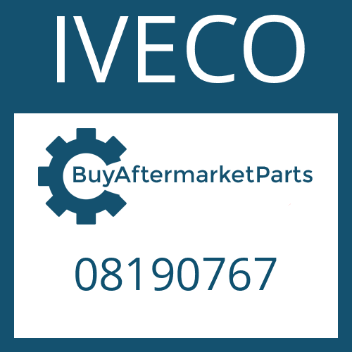 IVECO 08190767 - SPRAY TUBE