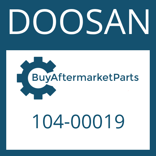DOOSAN 104-00019 - RING GEAR