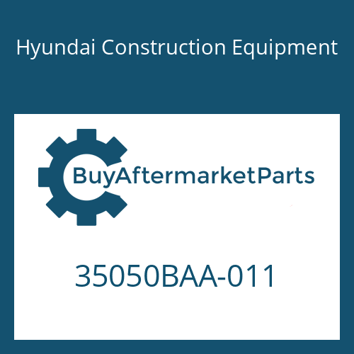 Hyundai Construction Equipment 35050BAA-011 - SUN GEAR NO3 T/R