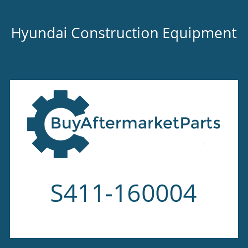 Hyundai Construction Equipment S411-160004 - WASHER-SPRING
