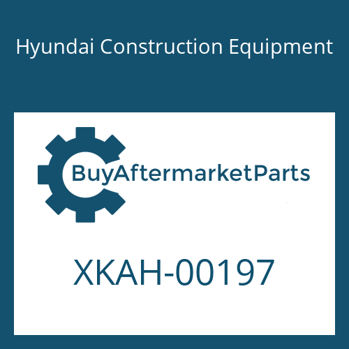 Hyundai Construction Equipment XKAH-00197 - O-RING