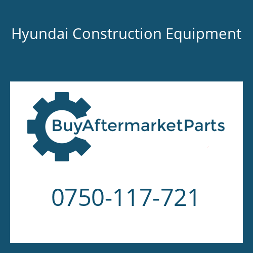 Hyundai Construction Equipment 0750-117-721 - BEARING-ROLLER