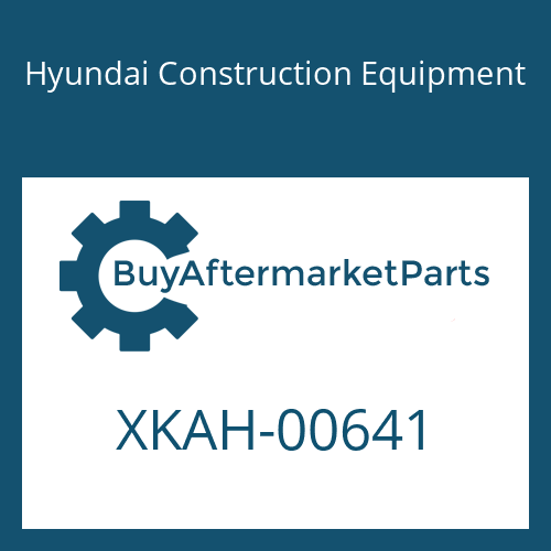 Hyundai Construction Equipment XKAH-00641 - BOLT-SOCKET