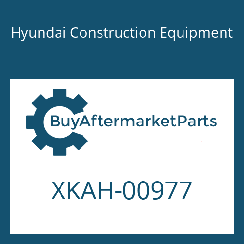 Hyundai Construction Equipment XKAH-00977 - PLUG