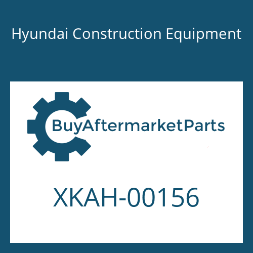 Hyundai Construction Equipment XKAH-00156 - SPACER-FRONT