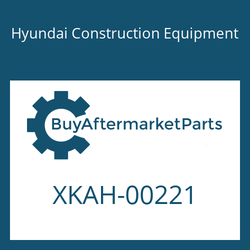 Hyundai Construction Equipment XKAH-00221 - SPACER