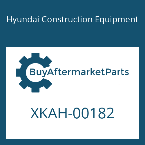 Hyundai Construction Equipment XKAH-00182 - SCREW-ADJUST