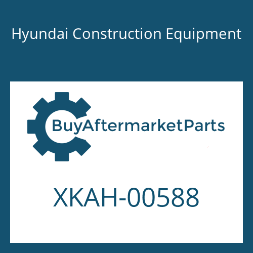 Hyundai Construction Equipment XKAH-00588 - STOPPER-SMALL
