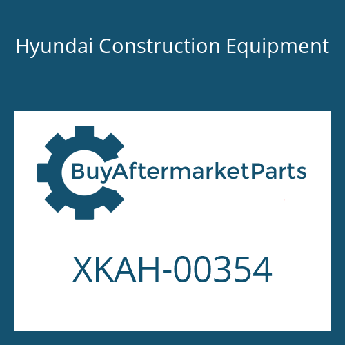 Hyundai Construction Equipment XKAH-00354 - SHAFT-CLUSTER