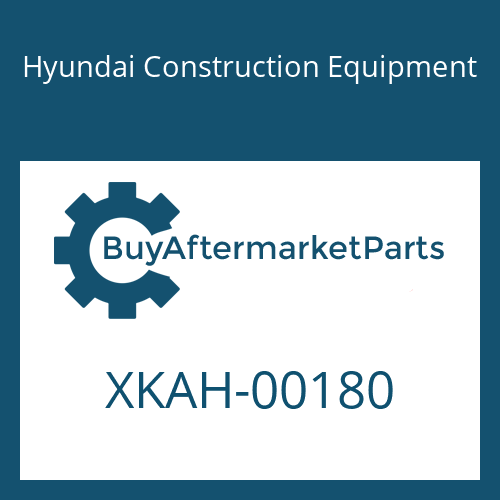 Hyundai Construction Equipment XKAH-00180 - POPPET