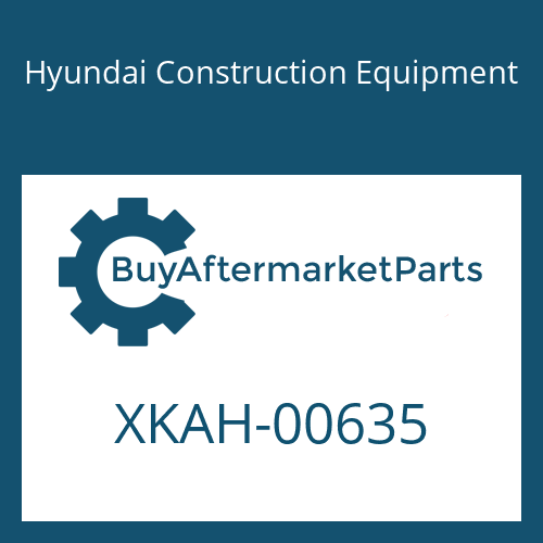 Hyundai Construction Equipment XKAH-00635 - PISTON-VALVE