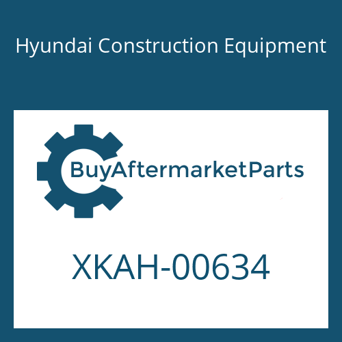 Hyundai Construction Equipment XKAH-00634 - STOPPER