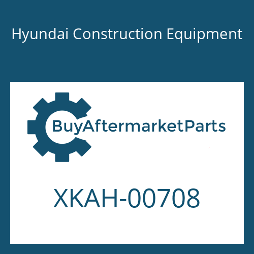Hyundai Construction Equipment XKAH-00708 - FILTER-RETURN