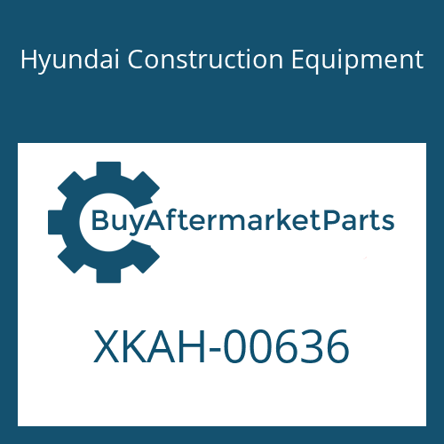 Hyundai Construction Equipment XKAH-00636 - SPOOL