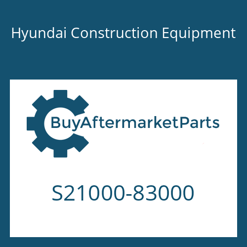 Hyundai Construction Equipment S21000-83000 - BLOCK ASSY(TOTAL), ENGINE