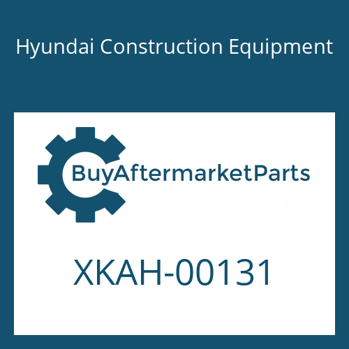 Hyundai Construction Equipment XKAH-00131 - SEAL-OIL