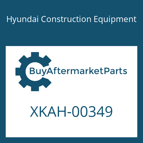 Hyundai Construction Equipment XKAH-00349 - GEAR-SUN