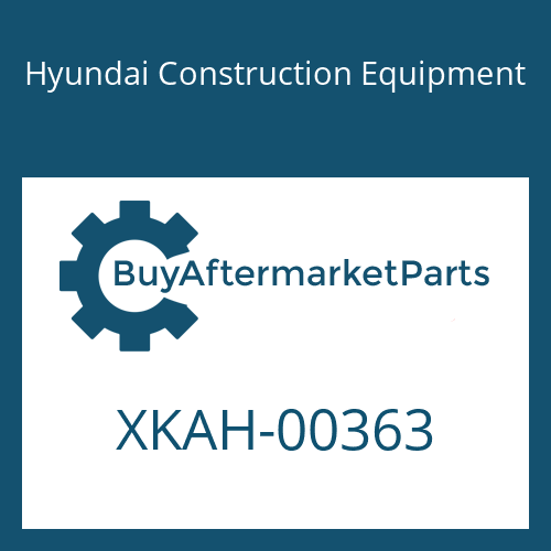 Hyundai Construction Equipment XKAH-00363 - GEAR-RING A