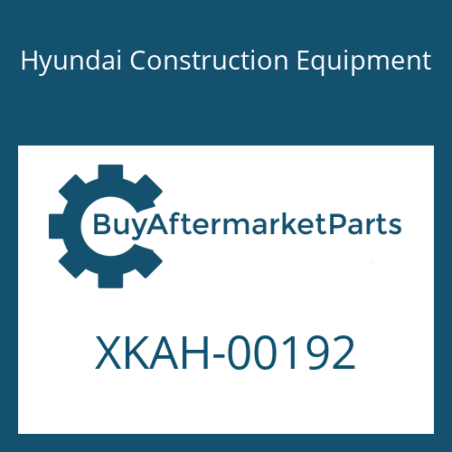 Hyundai Construction Equipment XKAH-00192 - O-RING