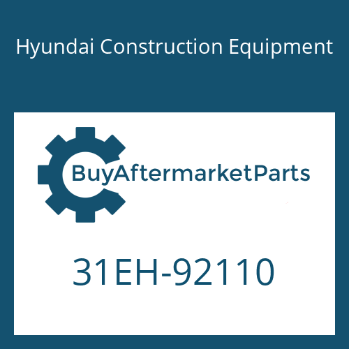 Hyundai Construction Equipment 31EH-92110 - PIPE ASSY-HYD