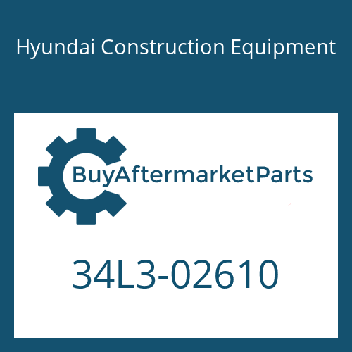 Hyundai Construction Equipment 34L3-02610 - ELBOW-90