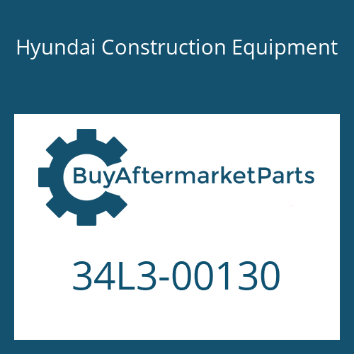 Hyundai Construction Equipment 34L3-00130 - COUPLING-SCREW