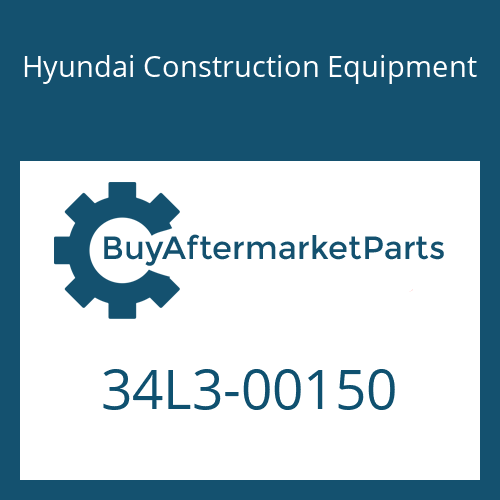 Hyundai Construction Equipment 34L3-00150 - BRACKET