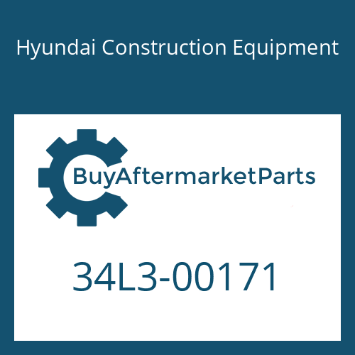 Hyundai Construction Equipment 34L3-00171 - PIN-JOINT