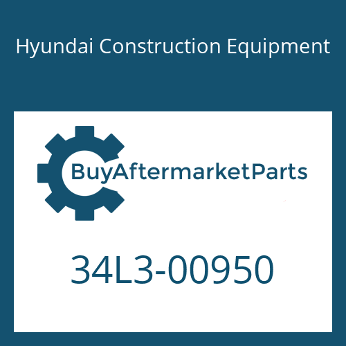Hyundai Construction Equipment 34L3-00950 - COVER