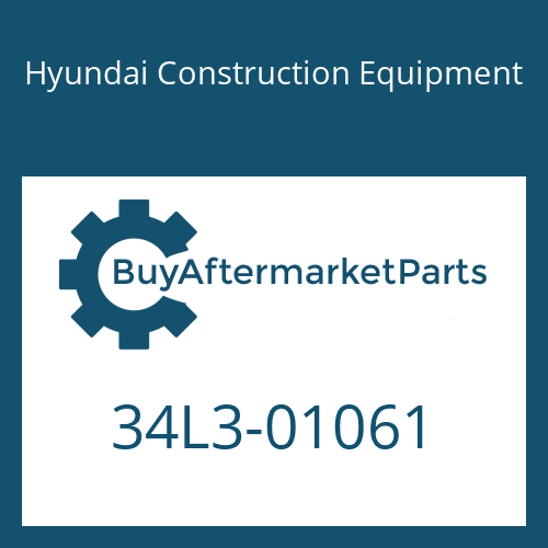 Hyundai Construction Equipment 34L3-01061 - BLOCK