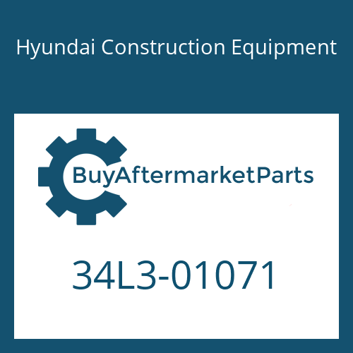 Hyundai Construction Equipment 34L3-01071 - PIPE ASSY-HYD
