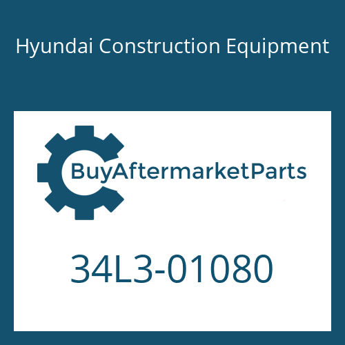 Hyundai Construction Equipment 34L3-01080 - PIPE ASSY-HYD