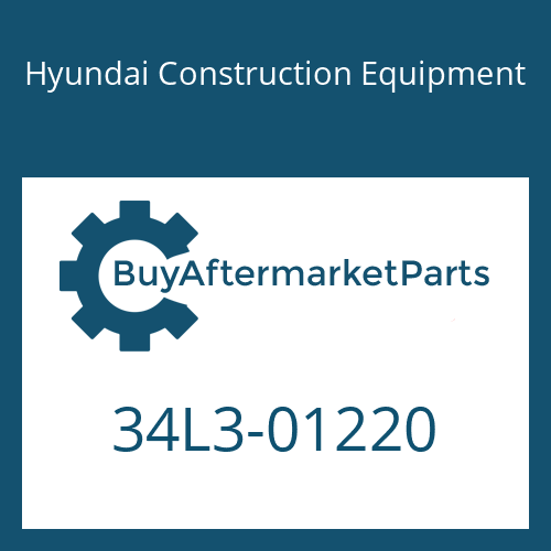 Hyundai Construction Equipment 34L3-01220 - PIPE ASSY-HYD