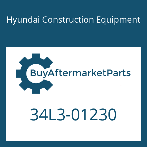 Hyundai Construction Equipment 34L3-01230 - PIPE WA