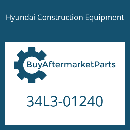Hyundai Construction Equipment 34L3-01240 - PIPE WA