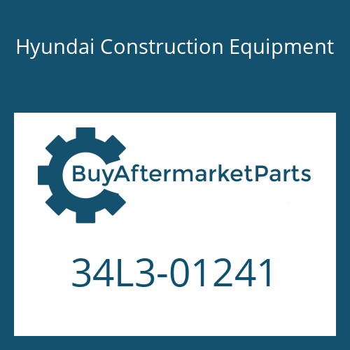 Hyundai Construction Equipment 34L3-01241 - PIPE ASSY-HYD