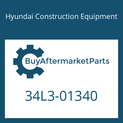 Hyundai Construction Equipment 34L3-01340 - CLAMP-PIPE