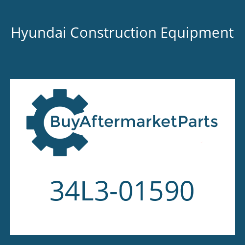 Hyundai Construction Equipment 34L3-01590 - PUMP ASSY-MAIN