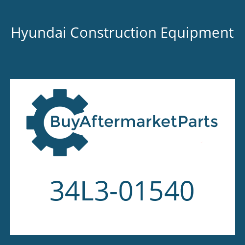Hyundai Construction Equipment 34L3-01540 - CONNECTOR