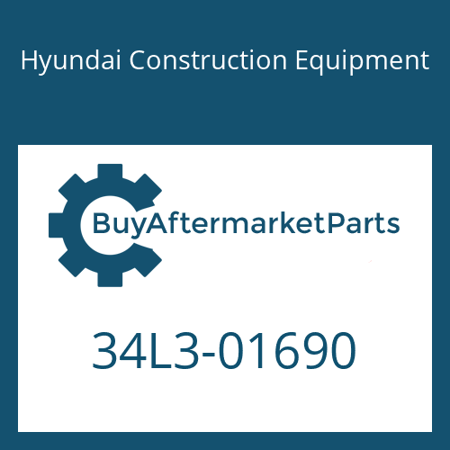 Hyundai Construction Equipment 34L3-01690 - COVER