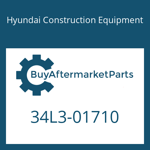Hyundai Construction Equipment 34L3-01710 - COVER