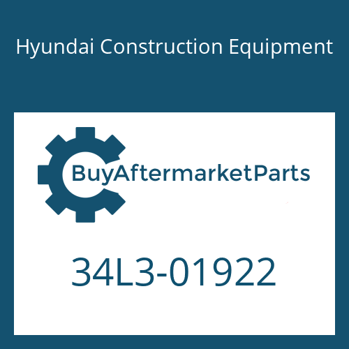 Hyundai Construction Equipment 34L3-01922 - PIPE ASSY-HYD