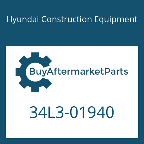 Hyundai Construction Equipment 34L3-01940 - PIPE ASSY-HYD