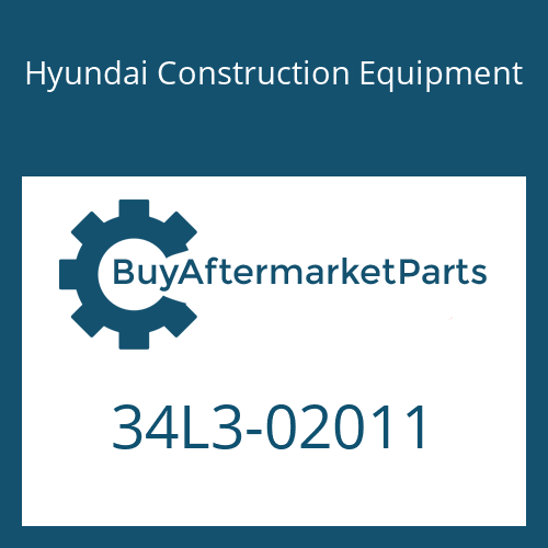 Hyundai Construction Equipment 34L3-02011 - PIPE ASSY-HYD