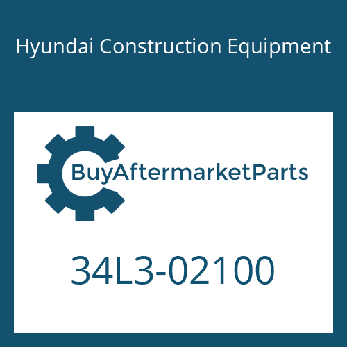 Hyundai Construction Equipment 34L3-02100 - PIPE ASSY-HYD