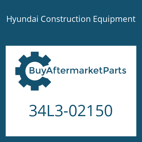 Hyundai Construction Equipment 34L3-02150 - TEE