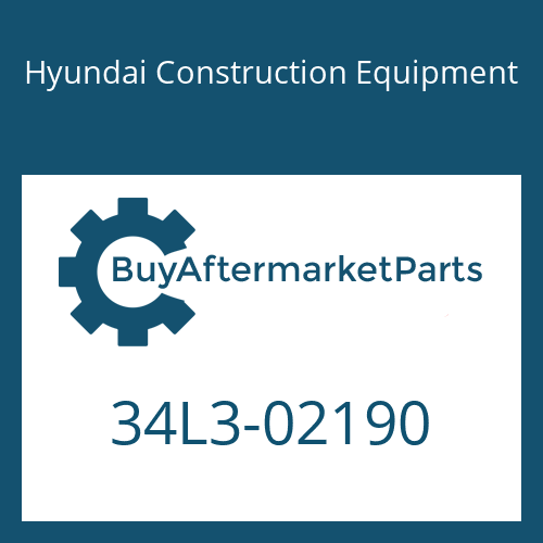 Hyundai Construction Equipment 34L3-02190 - BRACKET