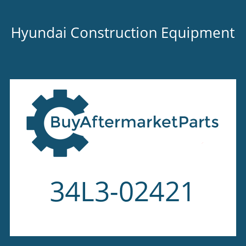 Hyundai Construction Equipment 34L3-02421 - CONNECTOR