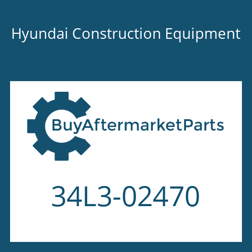 Hyundai Construction Equipment 34L3-02470 - PIPE ASSY-HYD