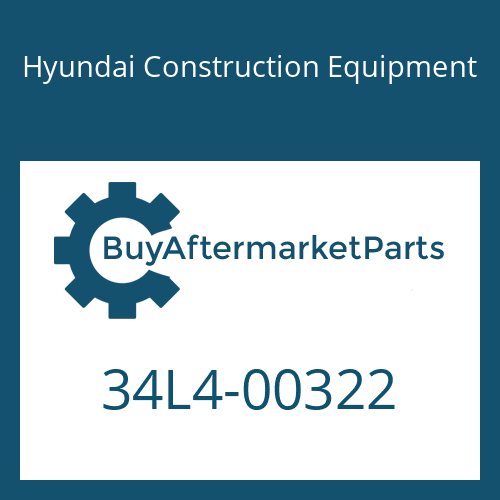 Hyundai Construction Equipment 34L4-00322 - PIPE ASSY-HYD
